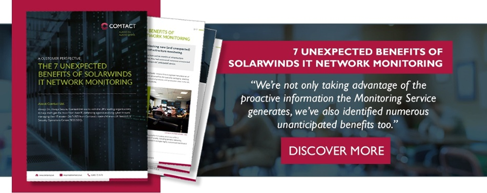 7 Unexpected Benefits of SolarWinds IT network monitoring V2