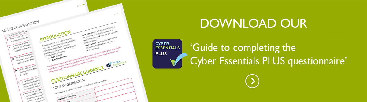 Cyber Essentials questionnaire guide