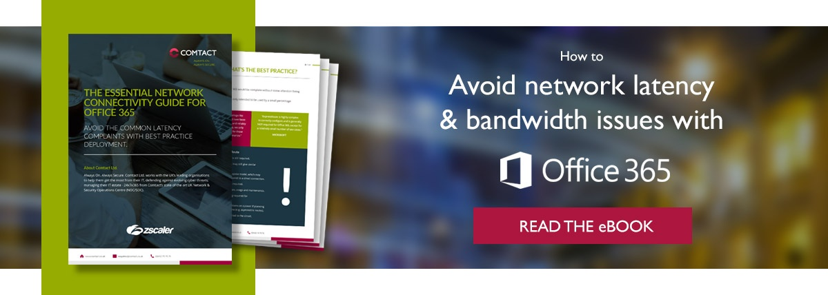 Solve Office 365 Network Latency Issues eBook