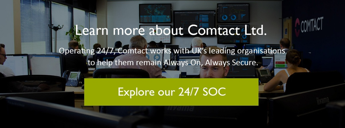 Explore our 24/7 Security Operations Centre (SOC)
