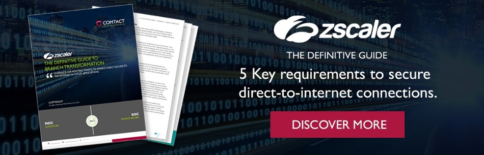 Zscaler - the definitive guide to branch transformation