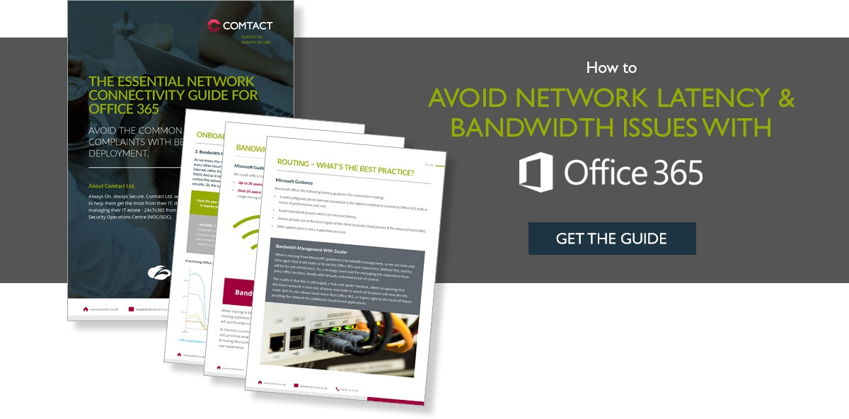 eBook: The Essential Network Connectivity Guide for Office 365