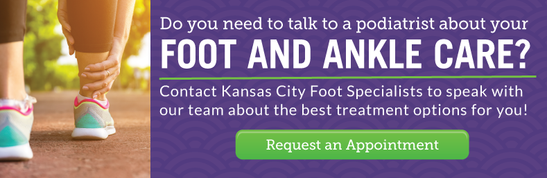 Contact Kansas City Foot Specialists to find the best treatment options for you!