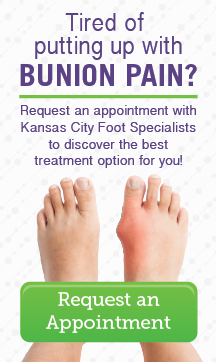 Don't put up with bunion pain!