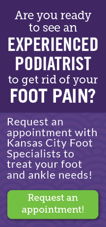 Request an appointment with Kansas City Foot Specialists!