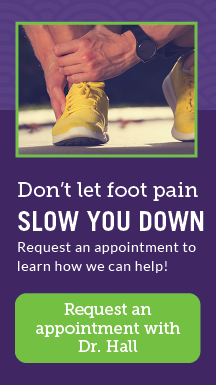 Request an appointment with Dr. Hall!