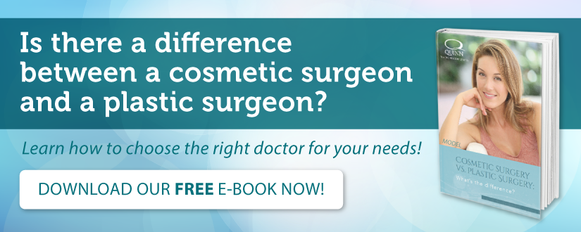 Download our ebook: Plastic Surgery vs. Cosmetic surgery