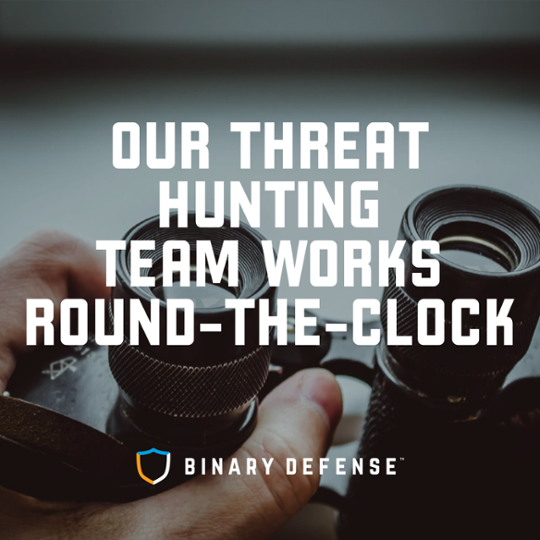 Learn more about the Threat Hunting Team from Binary Defense