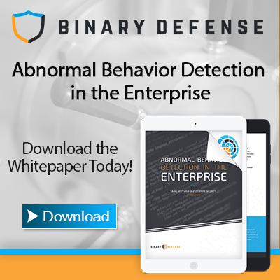 Abnormal Detection in the Enterprise Whitepaper