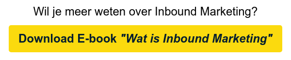"""Wil je meer weten over Inbound Marketing? Download E-book """"Wat is Inbound  Marketing"""""""