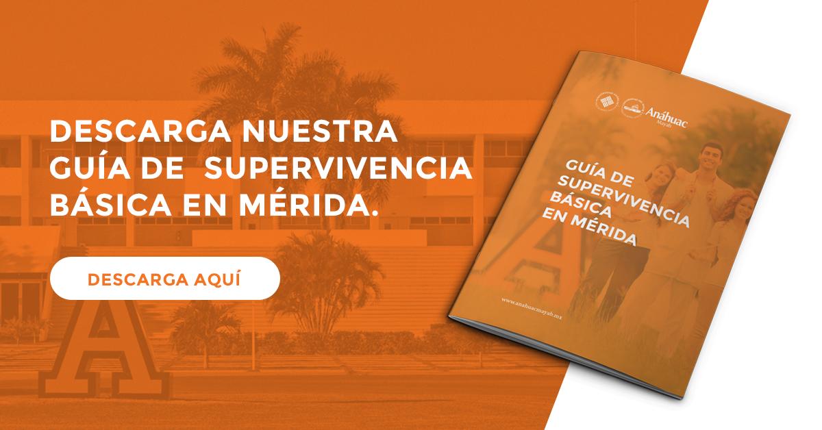 Descarga nuestra guía de supervivencia básica en Mérida