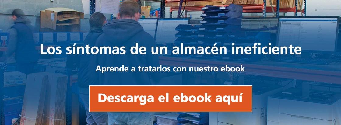 Los síntomas de un almacén ineficiente: descarga el ebook aquí