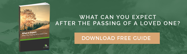 What can you expect after the passing of a loved one? Download our free guide.