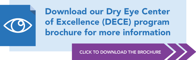 "Download the ""Dry Eye Center of Excellence Program"" brochure"