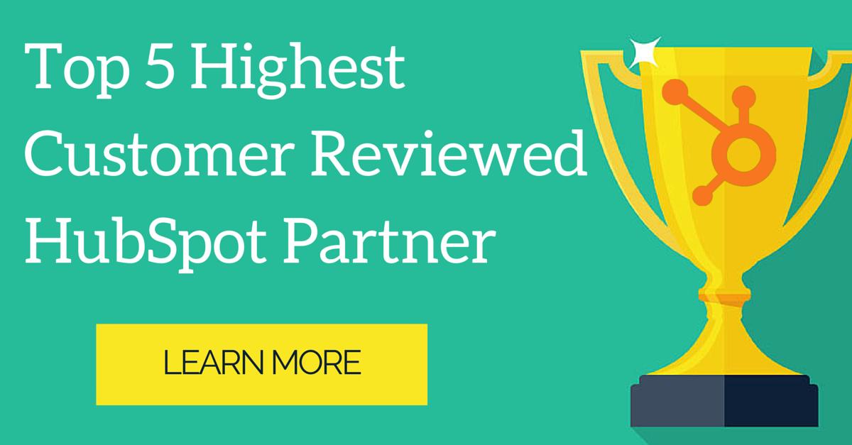 Highest Customer Reviewed HubSpot Partner