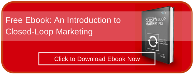 Free Ebook: Introduction to Closed Loop Marketing