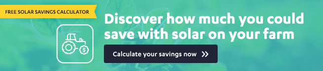 Solar savings calculator