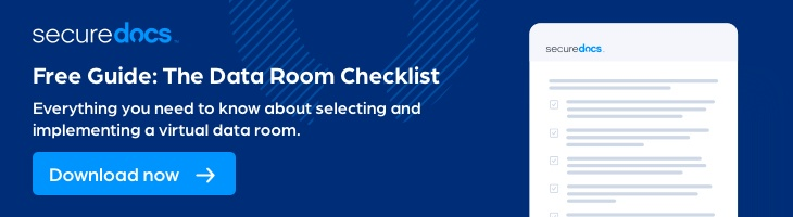 Data Room Checklist