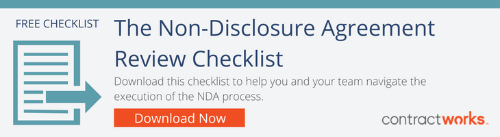 Click to Download the NDA Checklist