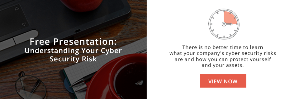 Cyber Security Month: Understanding Your Cyber Security Risk