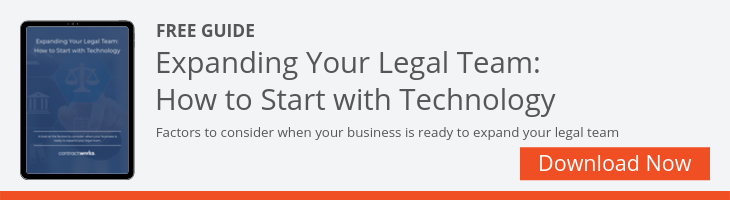 Expanding Your Legal Team Ebook