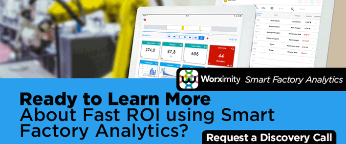 Worximity Smart Factory Analytics - Request a discovery call