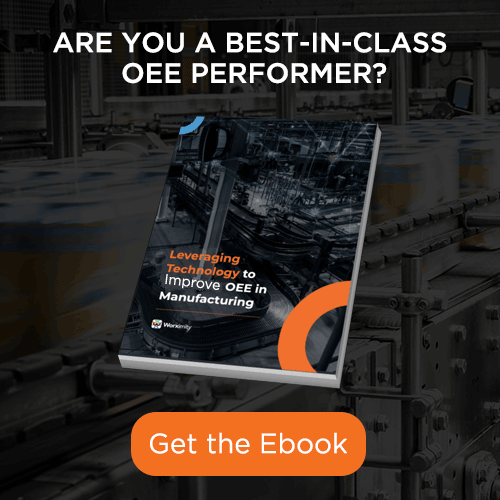 Are you a best-in-class OEE Performer? Worximity OEE Ebook