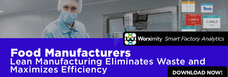Worximity Smart Factory Analytcis - Lean Manufacturing Ebook