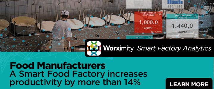 Worximity Smart Factory Analytics - Cheese Case Study