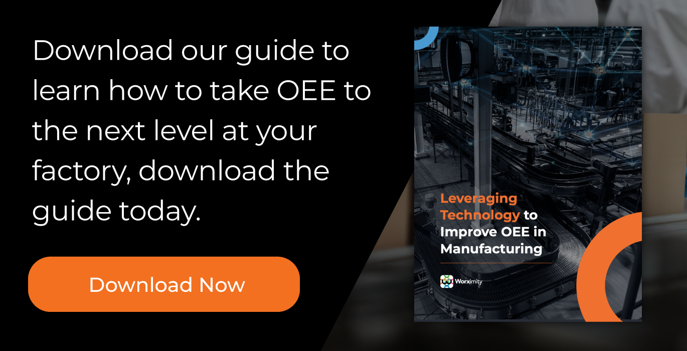 Leveraging Technology to Improve OEE in Manufacturing