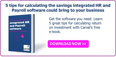 hr software calculating savings