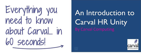 Carval HR Software Presentation