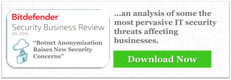 Bitdefender Security Business Review Q4:2014