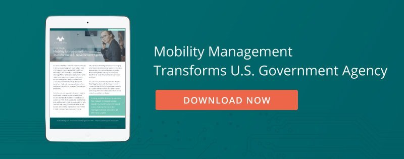 Download Now: Mobility Management Transforms U.S. Government Agency