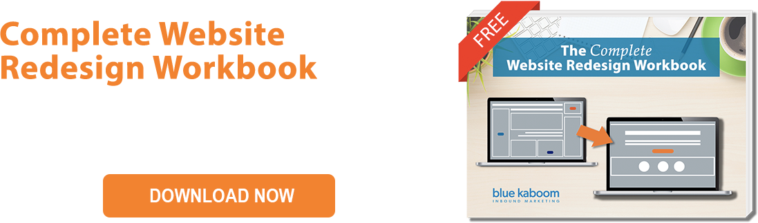 Complete Webside Redesign Workbook