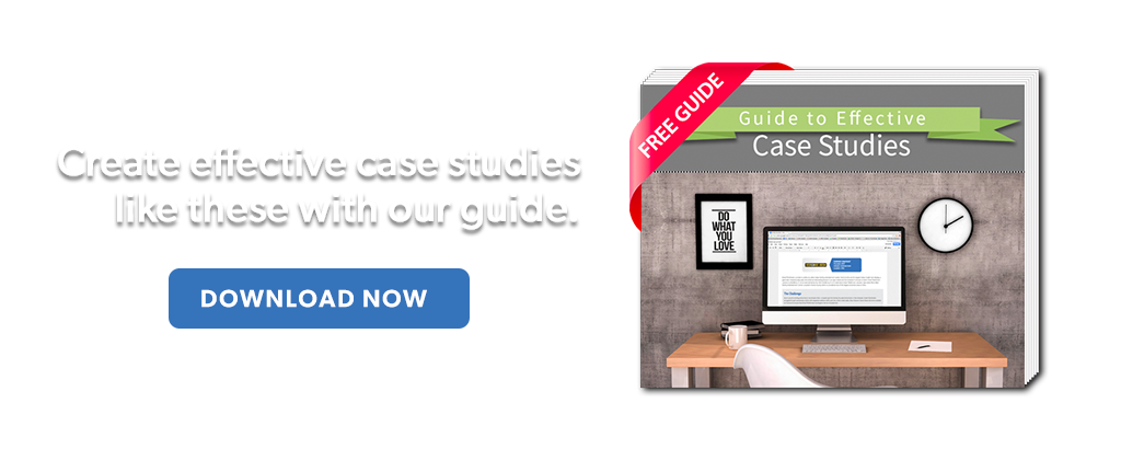 Free Guide to Effective Case Studies