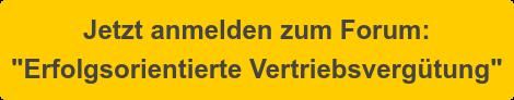 """Jetzt anmelden zum Forum: """"Erfolgsorientierte Vertriebsvergütung"""""""
