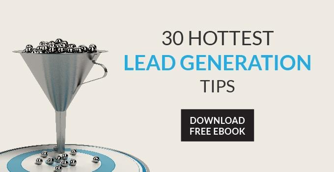 30 hottest lead generation tips free ebook