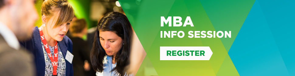 Attend a Vlerick MBA info-session