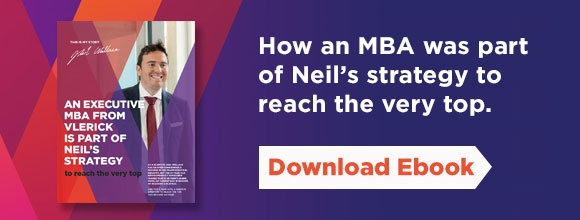 How an MBA was part of Neil's Strategy to reach the very top.