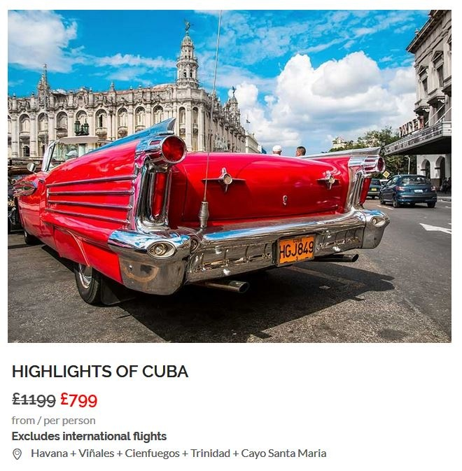 Highlights of Cuba Disccount