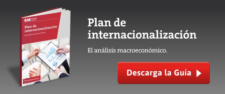 plan internacionalización análisis macroeconómico