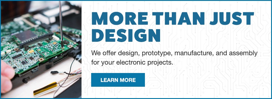 Levison Enterprises offers more than electronic assembly. We also offer electronic design, custom prototype, PCBA manufacture and PCB assembly