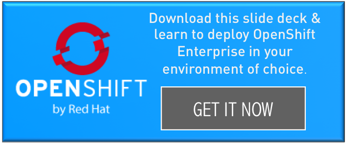 Download PaaS Anywhere OpenShift Slidedeck
