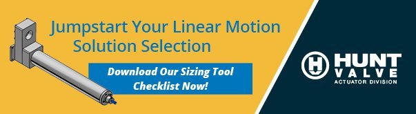 Download Our Actuator Sizing Tool Checklist Now!