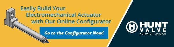 Easily Build Your Electromechanical Actuator with Our Online Configurator!