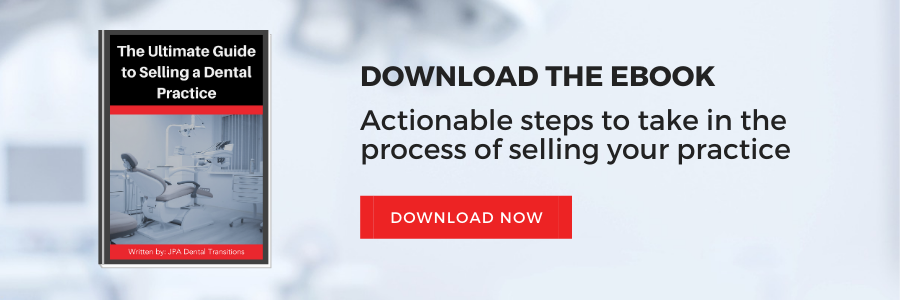 Guide to Selling a Dental Practice CTA