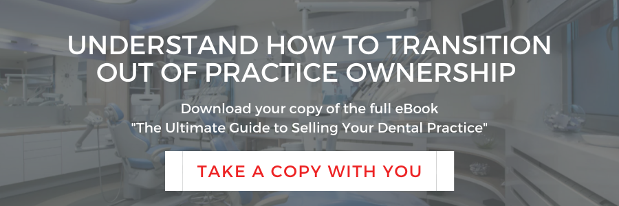 Guide to Selling a Dental Practice ebook CTA