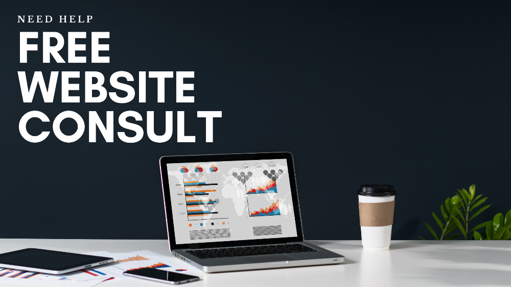 free website consult banner