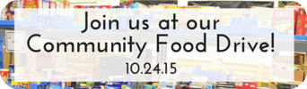 Community Food Drive at Kensington Furniture
